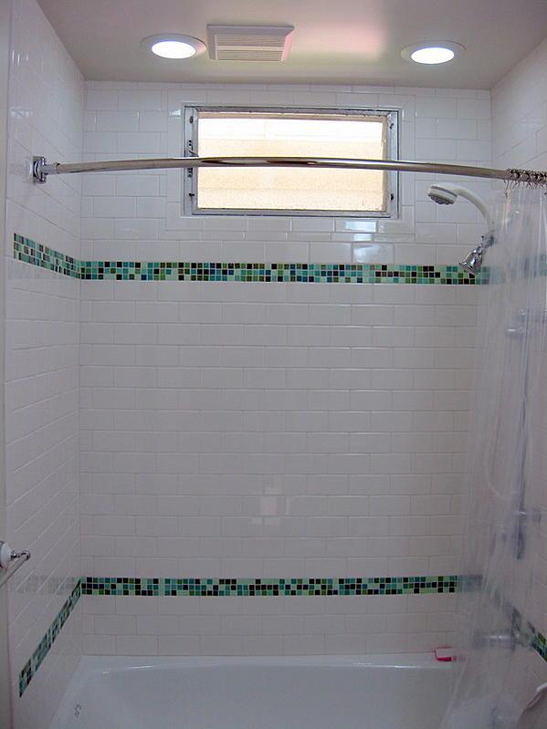 Advice Problem Tub Surround White 3 Quot X 6 Quot Subway W Glass