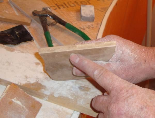 Single Pass Bullnose Profile Blade Wheel For Honed Marble Ceramic Tile Advice Forums John Bridge Ceramic Tile