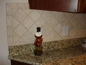 Unhappy with exposed edge of tile backsplash - Ceramic Tile Advice Forums -  John Bridge Ceramic Tile