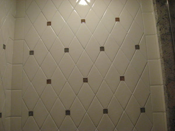Wrapping A Diamond Pattern Around Inside Corners Ceramic