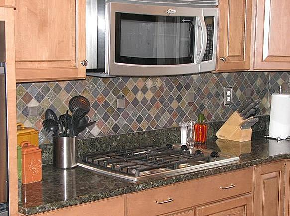 Slate kitchen backsplash - advice for a newbie. - Ceramic ...
