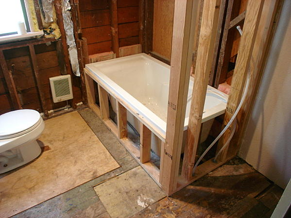 Drop In Tub Look With Shower Ceramic Tile Advice Forums John Bridge Ceramic Tile