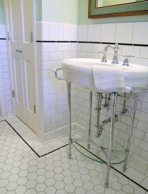Vintage Bathroom Floor To Replace Or Keep Ceramic Tile Advice Forums John Bridge Ceramic Tile