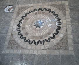 Ceramic Tile Floor Medallions Available