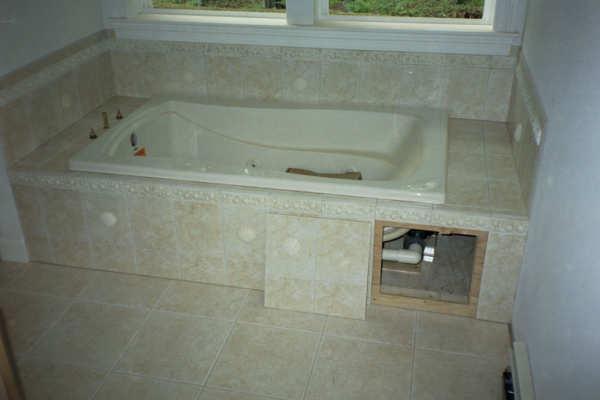 Access Advice For A Tiled Bath Panel Ceramic Tile Advice