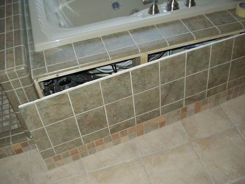Access Advice For A Tiled Bath Panel Ceramic Tile Forums John Bridge
