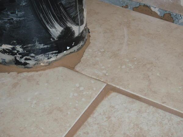 Bat Corner Shower Ceramic Tile Advice Forums John Bridge Pinwheel Pattern Rialto White