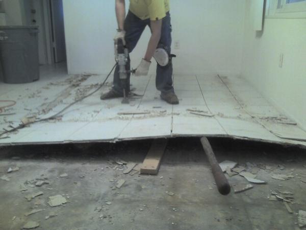 Tiling over Linoleum - Ceramic Tile Advice Forums - John Bridge ...