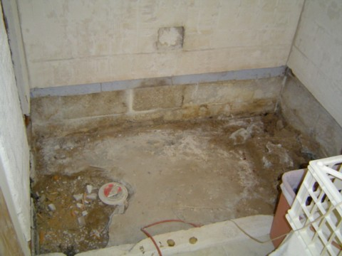 Tiling An Old Sunken Shower In Fl Ceramic Tile Advice