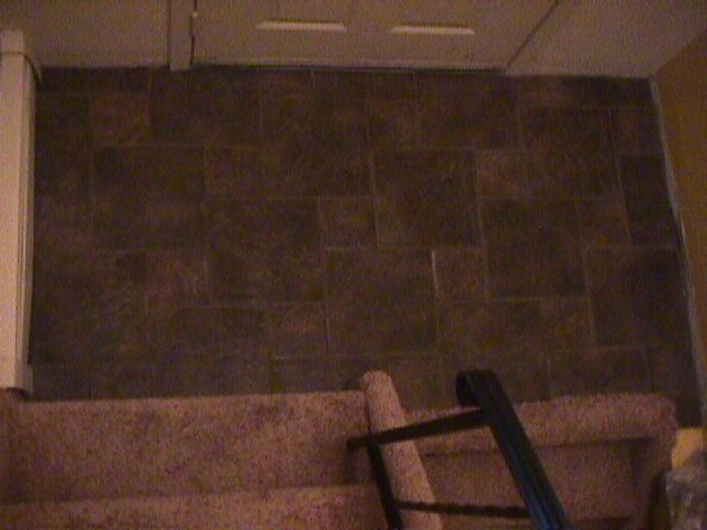 Transition To Carpeted Stairs Ceramic Tile Advice Forums
