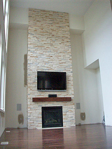 Indoor Installation Of Ledgestone Ceramic Tile Advice