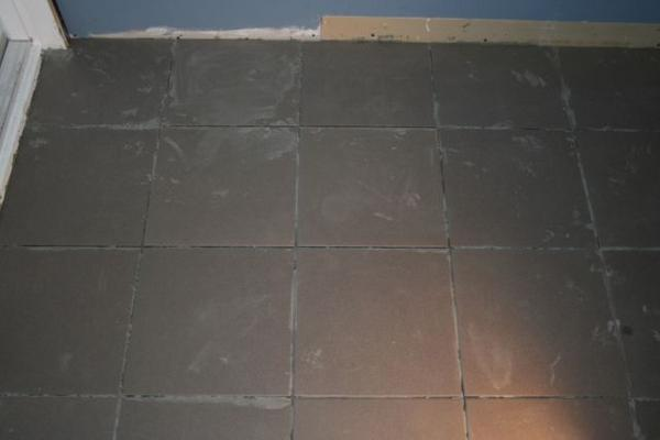 Cleaning Thinset Mortar From Tile Surface Ceramic Tile Advice - Cleaning mortar off tile