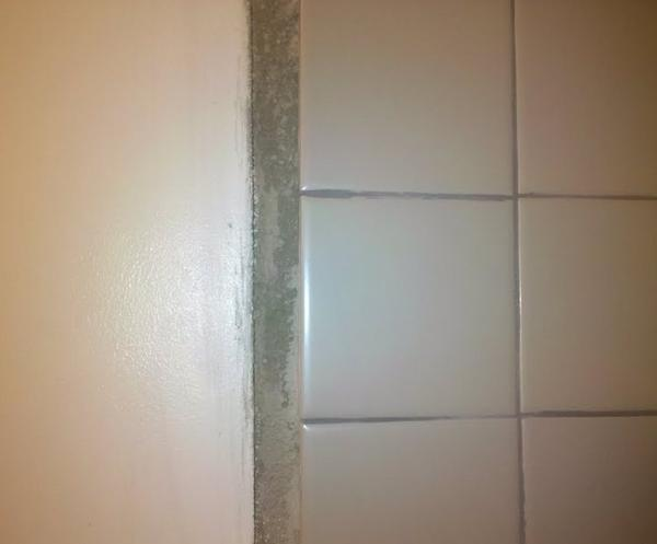 Overlap Of Shower From Mud To Drywall Ceramic Tile