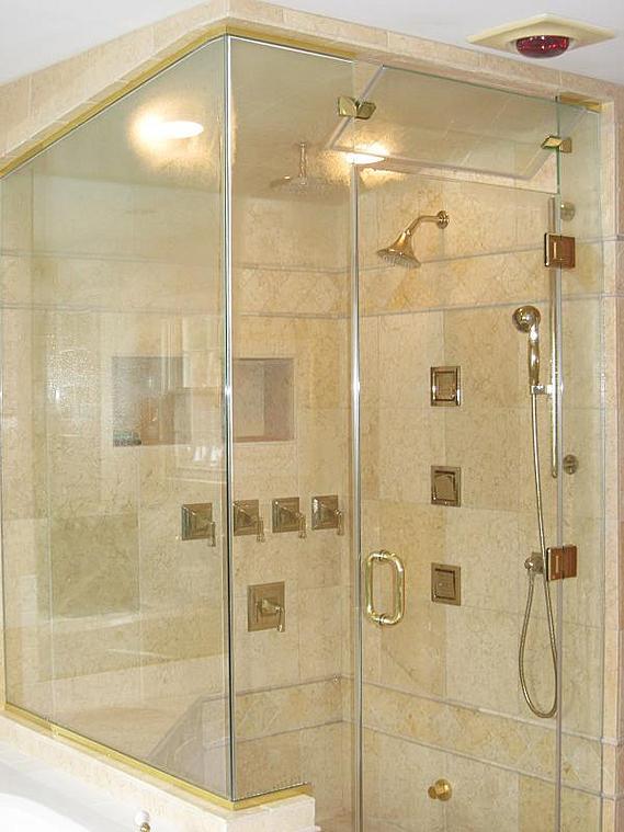 Glass Block In Steam Shower Pros Cons Ceramic Tile