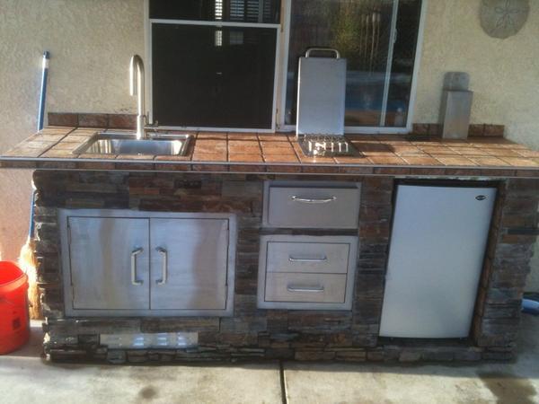 Outdoor Kitchen-Thanks - Ceramic Tile Advice Forums - John ...