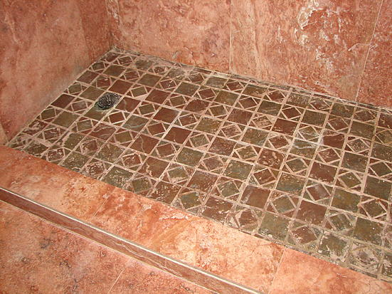 how to fix shower tile