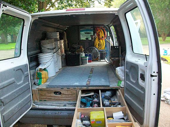 Lets See Your Van Truck Trailer Layouts Ceramic Tile