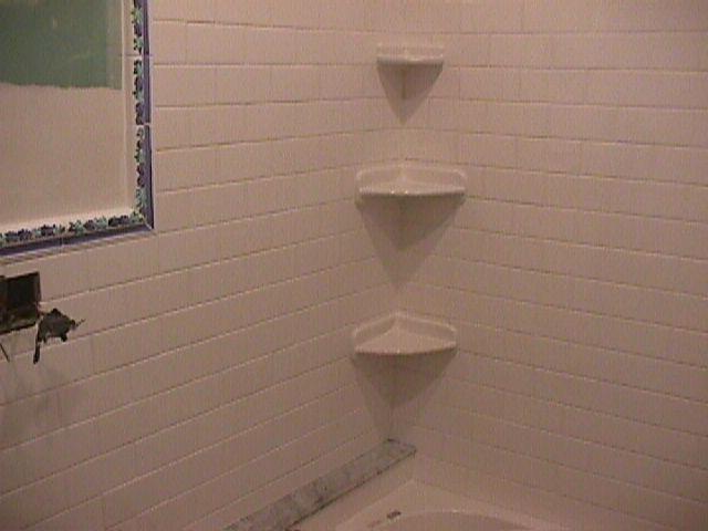 shower corner shelf repair - Ceramic Tile Advice Forums - John ...