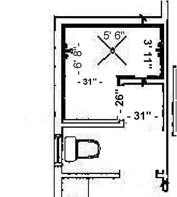 Minimum Doorless Walk In Shower Dimensions Joy Studio