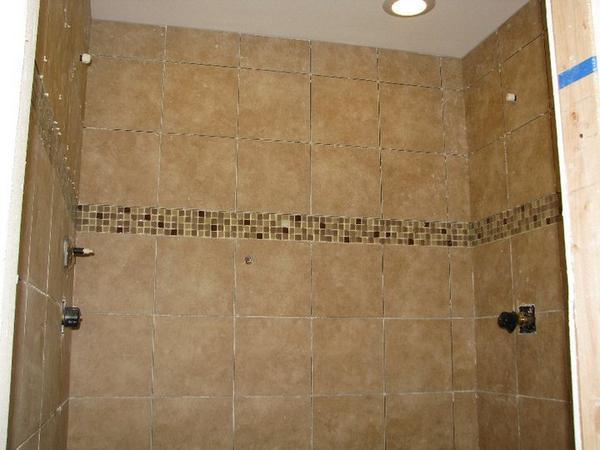 Bathroom Wall 12x12 Ceramic Tile Design Ideas ~ Can i use floor tiles on a bathroom wall ceramic