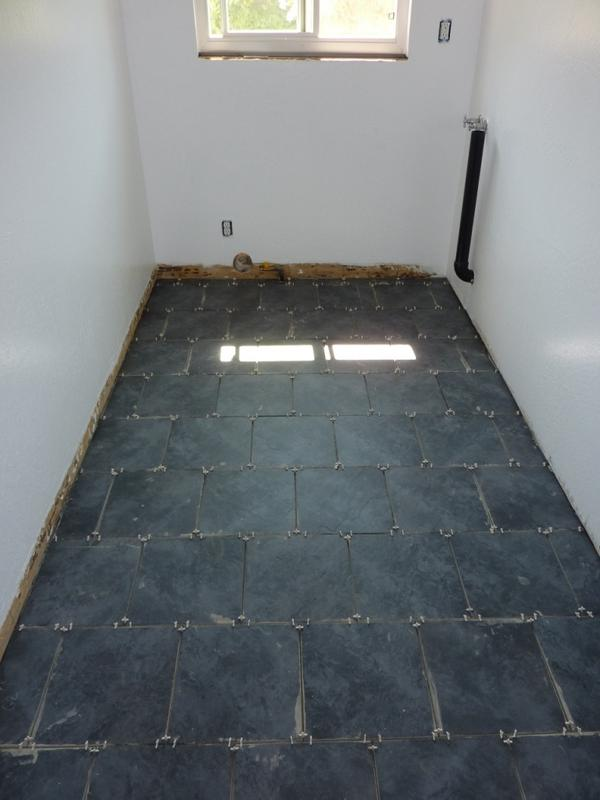 Trouble Deciding On Black Or Gray Grout Ceramic Tile