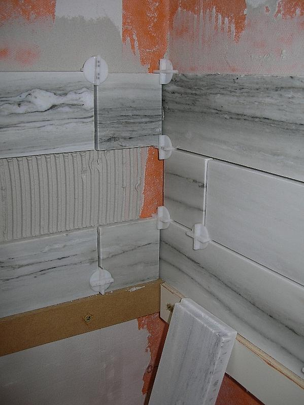 Tiling shower inner corners and floor/wall transition? - Ceramic ...