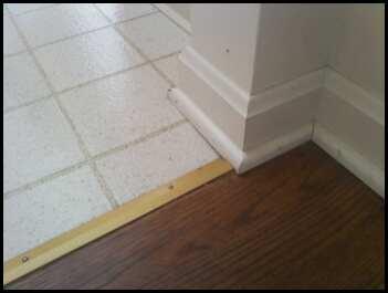 baseboard/transitions - Ceramic Tile