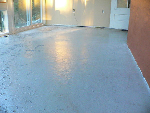Slate Tiles On Concrete Slab Sunroom Ceramic Tile Advice