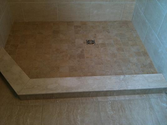 Top Caesarstone shower curb - Ceramic Tile Advice Forums - John Bridge  LA45