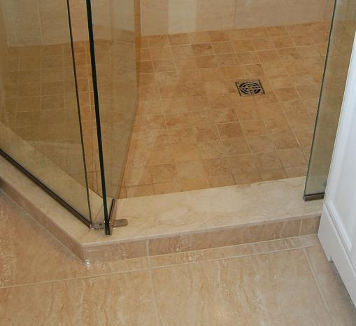Caesarstone Shower Curb Ceramic Tile Advice Forums