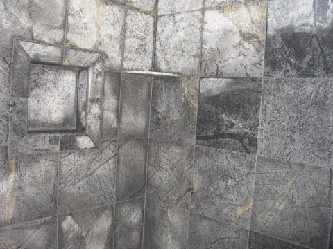 . Soapstone Shower   Ceramic Tile Advice Forums   John Bridge Ceramic Tile