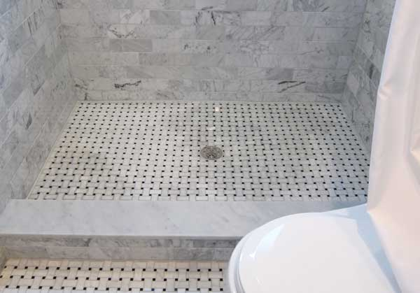 Spotting On Marble Shower Floor Ceramic Tile Advice