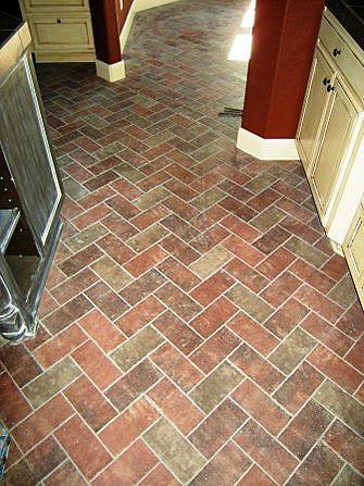 Brick Veneer On Family Room Floor Ceramic Tile Advice