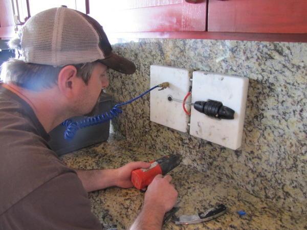 Need To Separate A Epoxy Seam In Granite Countertop