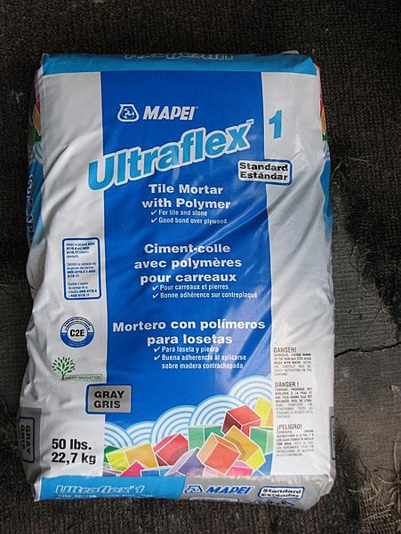 Is this OK to use as thinset for shower tile? MAPEI