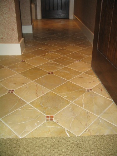 What To Use For Diamond Shaped Accent In Porcelain Tile Ceramic - Diamond shaped tile flooring