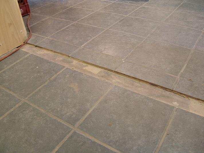 Two Tile Transition Situations Ceramic Tile Advice