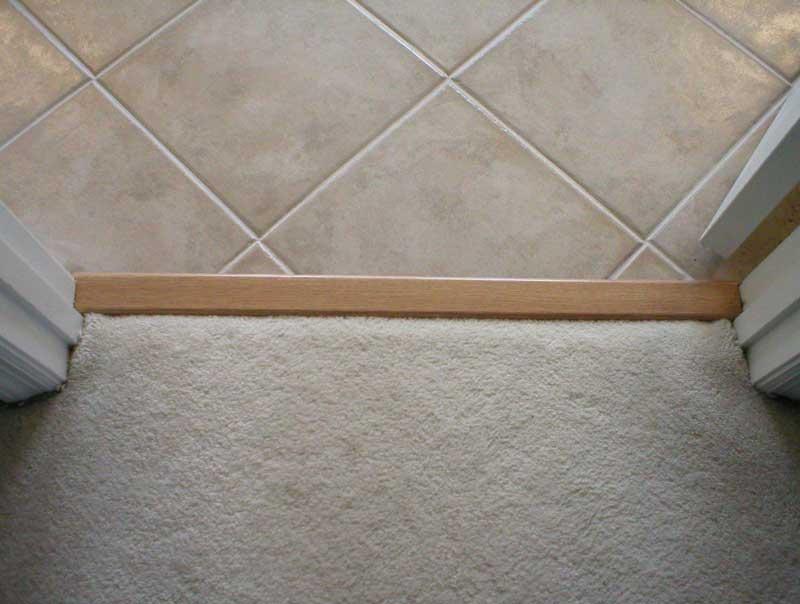 Carpet to Tile transition mistake Page 2 Ceramic Tile Advice