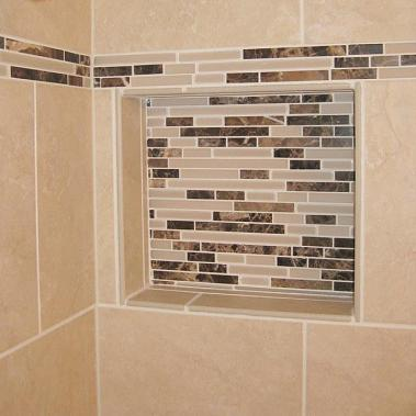 How to install tile in bathroom