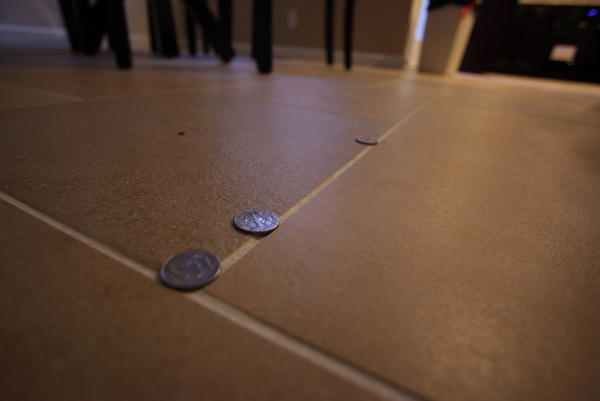 Kitchen Floor Tiles very uneven - Ceramic Tile Advice Forums - John ...