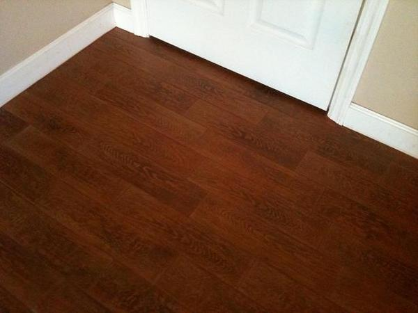 Porcelain Wood Tile Ceramic Tile Advice Forums John Bridge - Dark brown tile that looks like wood