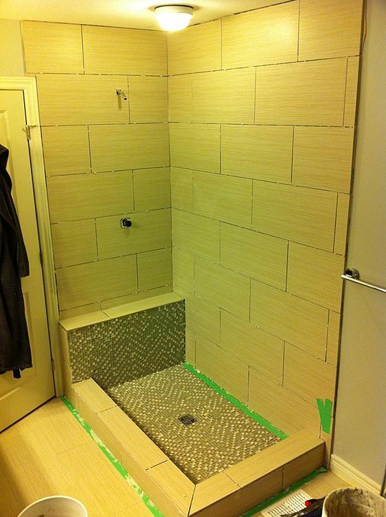 12 X 24 Shower Tile Issues Ceramic Tile Advice Forums John Bridge Ceramic Tile