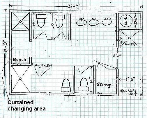 Bathroom Stall Layout bathroom stall size | carpetcleaningvirginia