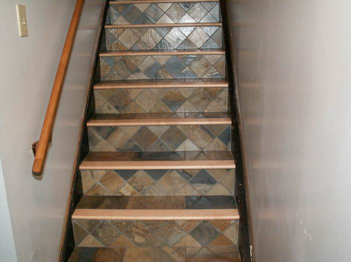 Tiling Wood Stairs Any Ideas Ceramic Tile Advice Forums John