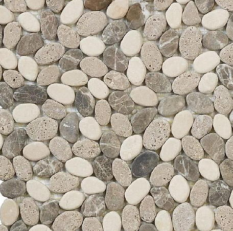 Advice On Porous River Rock As Shower Floor Ceramic Tile Advice