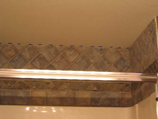 Tiling Above Shower Ceramic Tile Advice Forums John