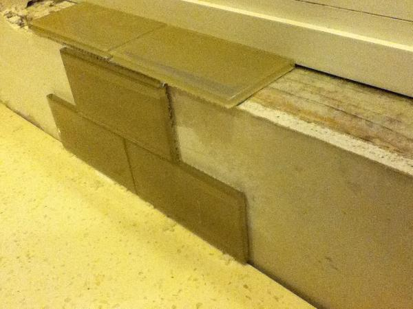Question On Tiling A Window Sill Ceramic Tile Advice