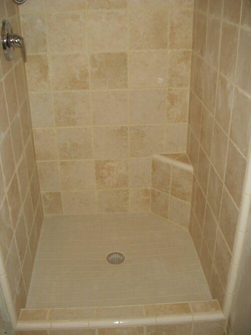 Shaving My Legs In New Shower Ceramic Tile Advice Forums