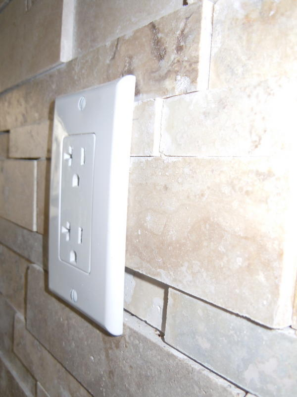 Electrical Faceplate Installation Question Ceramic Tile