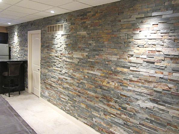Indoor Installation Of Ledgestone Ceramic Tile Advice